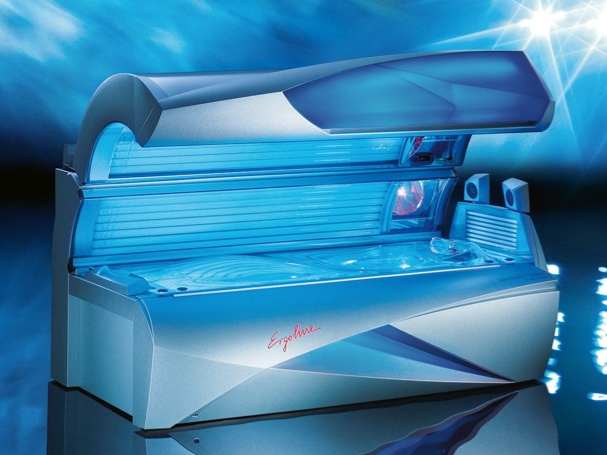 Picture of: Ergoline Affinity 500 Buy Used Tanning Beds